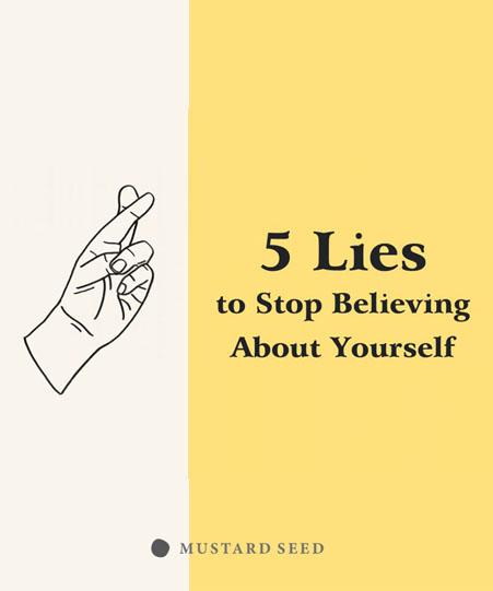5 คำลวงเกี่ยวกับตัวเองที่คุณควรเลิกเชื่อ