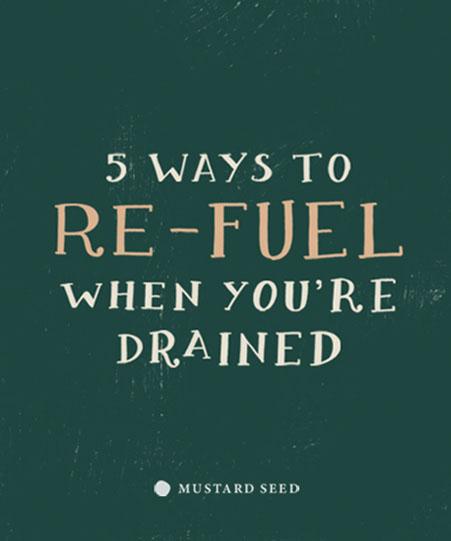 5 วิธีเติมพลังเมื่อคุณรู้สึกหมดแรง