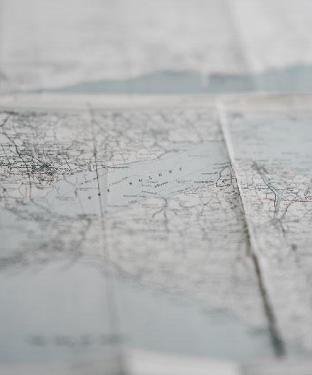 อย่าลืมดูแผนที่เมื่อต้องเดินทาง